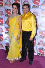 Paresh Ganatra, Shubhangi Atre Poorey at Sab Ke Anokhe Awards red carpet in NCPA, Mumbai on 19th Aug 2013 (100).JPG