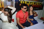 Ravi Kishan and Pakhi at Bhojpuri film Jiya Ho Bihar Ke Lala in Mhada on 19th Aug 2013 (6).JPG