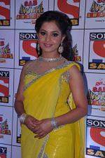 Shubhangi Atre Poorey at Sab Ke Anokhe Awards red carpet in NCPA, Mumbai on 19th Aug 2013 (100).JPG
