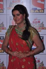 Sucheta Khanna at Sab Ke Anokhe Awards red carpet in NCPA, Mumbai on 19th Aug 2013 (10).JPG