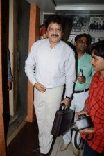 Udit narayan at the Recording song of movie My Name is Suman negi in Empire Studio on 19th Aug 2013 (5).JPG