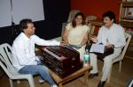 Udit narayan at the Recording song of movie My Name is Suman negi in Empire Studio on 19th Aug 2013 (6).JPG