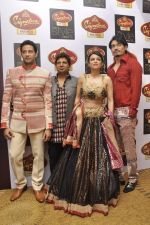Anaida, Zulfi Syed, Shawar Ali walk the ramp for Mumtaz Khan at the Signature Premier Pune Style Week 2013 on 19th Aug 2013 (1).JPG