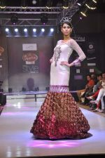 Model walk the ramp for Mumtaz Khan at the Signature Premier Pune Style Week 2013 on 19th Aug 2013 (24).JPG