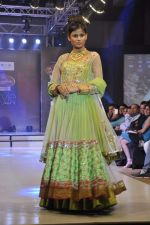 Model walk the ramp for Riyaz Gangji at the Signature Premier Pune Style Week 2013 on 19th Aug 2013 (5).JPG