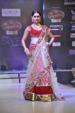 Model walk the ramp for Riyaz Gangji at the Signature Premier Pune Style Week 2013 on 19th Aug 2013 (9).JPG