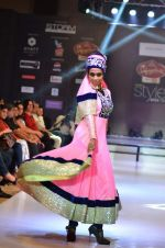 Model walk the ramp for Seema Singh at the Signature Premier Pune Style Week 2013 on 19th Aug 2013 (12).JPG
