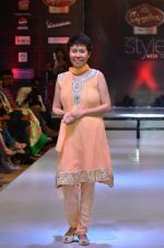 Model walk the ramp for Women_s Achievers Award at the Signature Premier Pune Style Week 2013 on 19th Aug 2013 (3).JPG