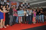 Aftab Shivdasani, Vivek Oberoi, Ritesh Deshmukh, Manjari Phadnis, Karishma Tanna, Sonalee Kulkarni, Maryam, Kainaat Arora at the Music launch of Grand Masti at R-City Mall in Mumbai on 23rd Aug 2013 (43).JPG