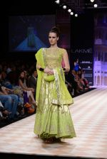 Model walk the ramp for Anita Dongre show at LFW 2013 Day 1 in Grand Haytt, Mumbai on 23rd Aug 2013 (88).JPG