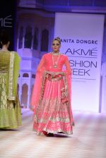 Model walk the ramp for Anita Dongre show at LFW 2013 Day 1 in Grand Haytt, Mumbai on 23rd Aug 2013 (90).JPG