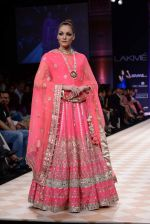 Model walk the ramp for Anita Dongre show at LFW 2013 Day 1 in Grand Haytt, Mumbai on 23rd Aug 2013 (91).JPG