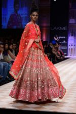 Model walk the ramp for Anita Dongre show at LFW 2013 Day 1 in Grand Haytt, Mumbai on 23rd Aug 2013 (96).JPG