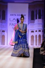 Model walk the ramp for Anita Dongre show at LFW 2013 Day 1 in Grand Haytt, Mumbai on 23rd Aug 2013 (97).JPG