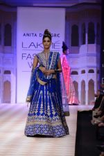 Model walk the ramp for Anita Dongre show at LFW 2013 Day 1 in Grand Haytt, Mumbai on 23rd Aug 2013 (99).JPG