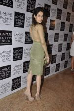 Sagarika Ghatge on Day 2 at LFW 2013 in Grand Haytt, Mumbai on 24th Aug 2013 (103).JPG
