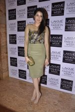 Sagarika Ghatge on Day 2 at LFW 2013 in Grand Haytt, Mumbai on 24th Aug 2013 (12).JPG