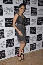 Genelia Deshmukh on Day 3 at LFW 2013 in Grand Haytt, Mumbai on 25th Aug 2013 (211).JPG