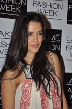 Neha Dhupia on Day 3 at LFW 2013 in Grand Haytt, Mumbai on 25th Aug 2013 (110).JPG