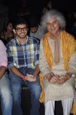 Aditya Thackeray, Shivkumar Sharma on Day 4 at LFW 2013 in Grand Haytt, Mumbai on 26th Aug 2013(478).JPG