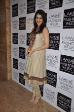 Genelia Deshmukh on Day 4 at LFW 2013 in Grand Haytt, Mumbai on 26th Aug 2013 (98).JPG