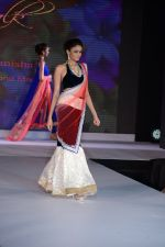 Model walks for Riddhi-Siddhi at The Style Walk at LFW 2013 Day 6 in Grand Haytt, Mumbai on 28th Aug 2013 (552).JPG