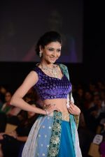 Model walks for Riddhi-Siddhi at The Style Walk at LFW 2013 Day 6 in Grand Haytt, Mumbai on 28th Aug 2013 (557).JPG