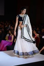 Model walks for Riddhi-Siddhi at The Style Walk at LFW 2013 Day 6 in Grand Haytt, Mumbai on 28th Aug 2013 (559).JPG