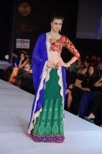Model walks for Riddhi-Siddhi at The Style Walk at LFW 2013 Day 6 in Grand Haytt, Mumbai on 28th Aug 2013 (549).JPG