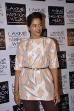 Sameera Reddy on Day 5 at LFW 2013 in Grand Haytt, Mumbai on 27th Aug 2013 (259).JPG