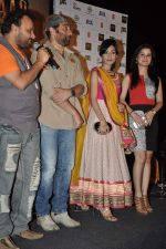 Anil Sharma, Sunny Deol, Amrita Rao, Anjali Abrol at Singh Sahab the great first look in PVR, Mumbai on 29th Aug 2013 (109).JPG