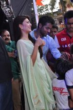 Jacqueline Fernandez at Pratap Sarnaik_s dahi handi in Thane Mumbai on 29th Aug 2013 (58).JPG