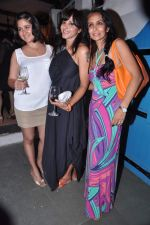 Manasi Scott, Narayani Shastri, Suchitra Pillai at the launch of The Collective style Book - Green Room in Mumbai on 31st Aug 2013 (66).JPG