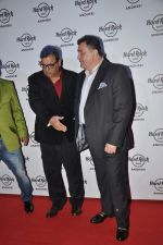 Rishi Kapoor, Subhash Ghai at Subhash Ghai_s bash at the launch of new Hard Rock Cafe in Andheri, Mumbai on 31st Aug 2013 (28).JPG