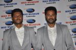 Prabhudeva at his wax statue launch for Celebrity Wax Museum of Lonavla in leela Hotel, Mumbai on 2nd Sept 2013 (27).JPG
