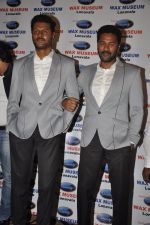 Prabhudeva at his wax statue launch for Celebrity Wax Museum of Lonavla in leela Hotel, Mumbai on 2nd Sept 2013 (37).JPG