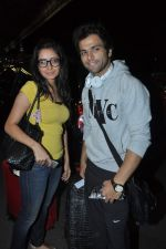 Asha Negi, Rithvik Dhanjani leave for SAIFTA Awards in Mumbai Airport on 4th Sept 2013 (82).JPG