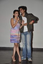 Aditi Rao Hydari, Shiv Pandit at Teacher_s day celebrations in Mithibai College, Mumbai on 5th Sept 2013 (71).JPG