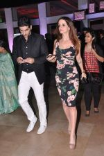 Suzanne Roshan, Hrithik Roshan at Rakesh Roshan_s birthday bash in Mumbai on 6th Sept 2013 (181).JPG