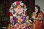 Misti Mukherjee celebrate Ganesh Chaturthi in Mumbai on 9th Sept 2013 (137).JPG