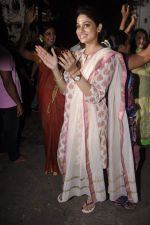 Shilpa Shetty_s Ganesha Visarjan in Mumbai on 10th Sept 2013(188).JPG