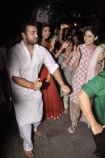 Shilpa Shetty_s Ganesha Visarjan in Mumbai on 10th Sept 2013(197).JPG