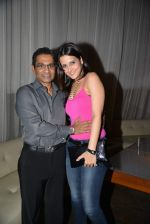 capt vinod nair with tulip joshi at Tulip Joshi_s bday bash in Escobar, Mumbai on 11th Sept 2013.JPG