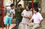 Salim Saqib, Amol Gupte on sets of Hawaa Hawaai.jpg