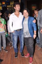 Kailash Kher, Sonu Nigam at Baat Bann Gayi music launch in Hard Rock, Mumbai on 19th Sept 2013 (67).JPG