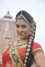 Divyaalakshmi at Maharana Pratap Singh on location for SONY in Gujarat Border on 20th Sept 2013 (159).JPG