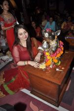 Misti Mukherjee at Musical audio release of film My friend Husain at Andheri cha Raja in Mumbai on 20th Sept 2013 (7).JPG
