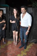 Neelam Kothari, Samir Soni at Chunky Pandey_s Birthday Bash in Mumbai on 25th Sept 2013 (93).JPG