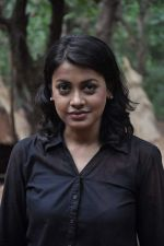 Janvi Chheda at CID on location as they celeberate 1000 episode in Filmcity, Mumbai on 26th Sept 2013 (20).JPG
