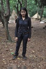 Janvi Chheda at CID on location as they celeberate 1000 episode in Filmcity, Mumbai on 26th Sept 2013 (22).JPG